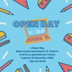 Volantino open day 2020 21